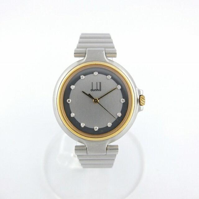 ダンヒル dunhill ミレニアム クォーツ ダイヤ12ポイント メンズ 腕時計 【中古】