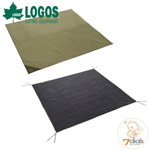 LOGOS/ロゴス テントマット&シート・XLサイズテント用 インナーマットとグランドシートの快適2点セット インナーシートは地面の凹凸をやわらげ冷気や湿気を遮断 グランドシートは汚れや摩