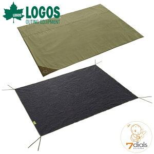 【あす楽】LOGOS/ロゴス テントマット&シート・Lサイズテント用 インナーマットとグランドシートの快適2点セット インナーシートは地面の凹凸をやわらげ冷気や湿気を遮断 グランドシート