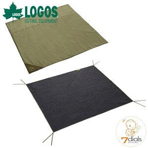 LOGOS/ロゴス テントマット&シート・Mサイズテント用 インナーマットとグランドシートの快適2点セット インナーシートは地面の凹凸をやわらげ冷気や湿気を遮断 グランドシートは汚れや摩