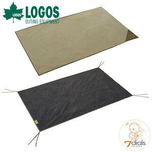 LOGOS/ロゴス テントマット&シート・DUOサイズテント用 インナーマットとグランドシートの快適2点セット インナーシートは地面の凹凸をやわらげ冷気や湿気を遮断 グランドシートは汚れや