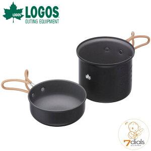 LOGOS/ロゴス LOGOS クッカー・SOLO KIT 900 ソロキャンプに最適なコンパクトなクッカーがセット 容量は900mlと345mlで、収納時にカップ麺を中に入れて持ち運び可能【2021】