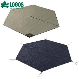 【あす楽】ロゴス/LOGOS Tepee マット&シート350ティピーテントに対応したインナーシートとグランドシートのセット品 地面からの冷気や湿気を遮断 快適フロアシート【送料無料】