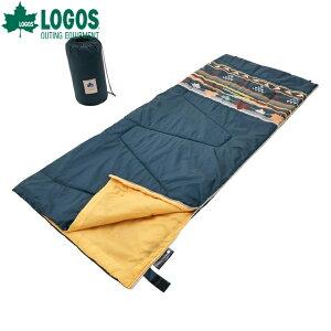 ロゴス/LOGOS 丸洗い寝袋・15(ダークグリーンナバホ)シュラフ 布団 封筒型シュラフ【送料無料】【2020】