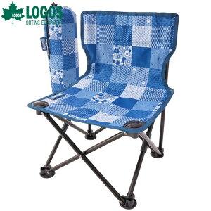 【最大450円OFF】ロゴス/LOGOS タイニーチェア プラス-BJ(JAPON) 耐荷重100kg 大人から子供まで使えるコンパクトチェア アウトドアチェア 椅子 イス【2020】