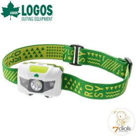 【あす楽】LOGOS/ロゴス ROSY LEDヘッドライト キャンプやフェスの夜道に大活躍 ネックライトとしても使えるヘッドライト 生活防水仕様 LEDヘッドライト部分は角度調整可能 単四アルカリ電池使用