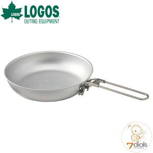 LOGOS/ロゴス FDオーブンフライパン アウトドアでのオーブン料理に便利なフライパン ハンドルは収納しやすい折り畳み式 IH非対応