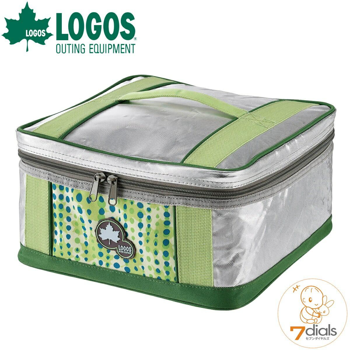 LOGOS/ロゴス insul10 ピザクーラー&ウォーマー 冷凍ピザの保冷や焼いたピザの保温の両方に使える 飲み物の保冷バッグにも使えます