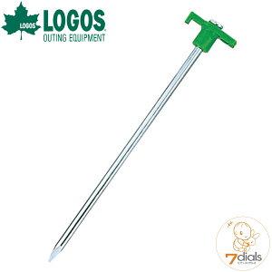 【あす楽】LOGOS/ロゴス Qセットメイト・ネイルペグ25cm(4pcs) 4本入り 極太8mmのスチール製ペグでブロック塀も貫通できる 固い地面でも安心