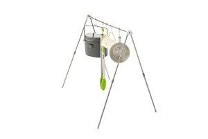 【あす楽】LOGOS/ロゴス TAKIBIA型ツールラック トングやグローブなど焚き火の小物はもちろん、ランタン、鍋蓋など地べたに置きがちな小物を何でも吊ってスッキリ 収納コンパクトでかさばら