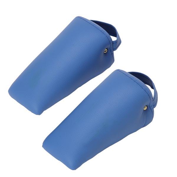 三角ブロック(大)2個セット ブルー [ カイロブロック 整体枕 整体マクラ マッサージ枕 マッサージマクラ カイロ マッサージ 整体 矯正 エステ マクラ 枕 SOT S.O.T カイロプラクティック ブロック補助 ブロックテクニック 骨盤矯正 体位固定 ][ E-2-2-2 ][ 7エステ ]