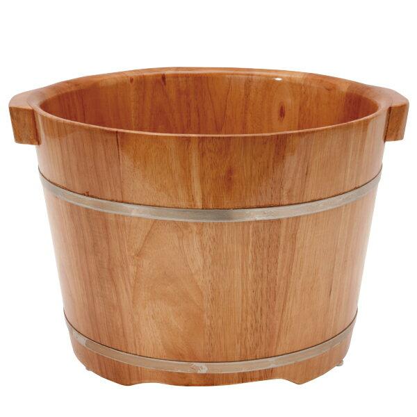 足浴桶 ( Lサイズ ) 取っ手付 ( ビニールシート100枚付 )[ 足浴器 足浴桶 足湯器 足湯桶 フットバス器 フットケア 足浴剤 足湯剤 入浴剤 ][ E-2-5-2 ][ 7エステ ]
