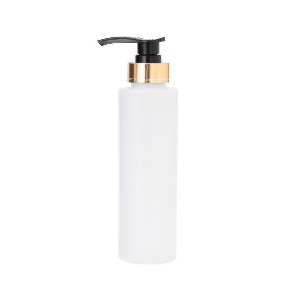 ポンプボトル半透明 270mL [ オイルウォーマー オイルトリートメント オイルボトル マッサージオイル アロママッサージオイル ボディマッサージオイル ボディオイル アロマオイル ][ E-3-10-2 ][ 7エステ ]