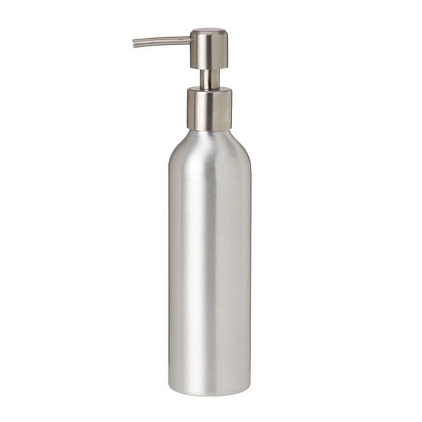 アルミポンプボトル 250mL [ オイルウォーマー オイルトリートメント オイルボトル マッサージオイル アロママッサージオイル ボディマッサージオイル ボディオイル アロマオイル ][ E-3-10-2 ][ 7エステ ]