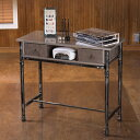 クラシックテーブル T-01 [ ネイルテーブル ネイルデスク スリムデスク パソコンデスク PC 平机 作業台 多機能 インテリア アンティーク デスク テー...