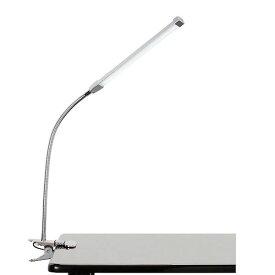 クリップ LED ライト シルバー [ LEDライト LEDランプ 卓上ライト クリップライト デスクライト テーブルライト デスクスタンド 電気スタンド USB 照明 セルフネイル まつげエクステ まつ毛エクステ まつエク マツエク ][ Z-1-12 ][ 7エステ ]◆