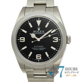 【102937】ROLEX ロレックス 214270 エクスプローラー ブラック (3.6.9ブラックアウト)ダイヤル SS 自動巻き 当店オリジナルボックス 腕時計 時計 WATCH メンズ 男性 男 紳士【中古】
