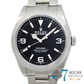 【105065】ROLEX ロレックス 214270 エクスプローラー ブラックダイヤル ランダム番 SS 自動巻き ギャランティーカード 純正ボックス 腕時計 時計 WATCH メンズ 男性 男 紳士【中古】
