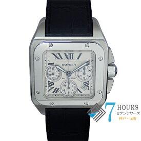 Cartier(カルティエ)W20090X8 サントス100XL クロノグラフ【中古】