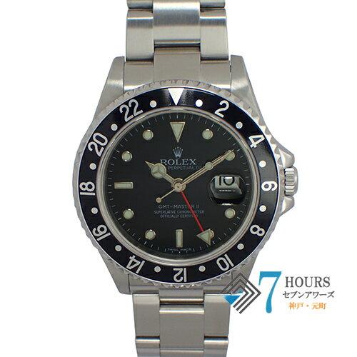 ROLEX(ロレックス)16710T GMTマスター2 Z番 スティックダイヤル 黒ベゼル 美品 保証書【中古】