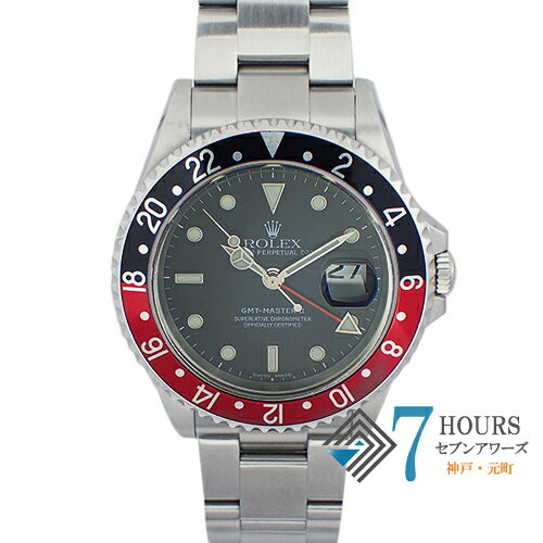 ROLEX(ロレックス)16710 GMTマスター2 D番 赤黒ベゼル【中古】