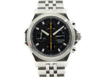 SEIKO credor Pacifique chronograph 2000 year 2000 this limited 6S77-0A10 GCBK997