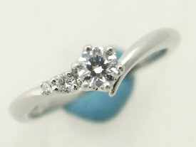 【中古】 ヴァンドーム青山 ダイヤモンドリング 7号 Pt950(プラチナ 白金) 指輪 質屋出品 【コンビニ受取対応商品】
