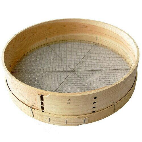 木製ふるい 尺5(45cm) 麦 丸型 目合約9mm (株)コジマ