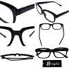 伊達メガネ 黒縁 メンズ ウェリントン メガネ 全4色 新作 眼鏡 黒ぶち眼鏡 黒 ブラック ウェリントン型 めがね サングラス アメカジ系 ストリート系 ロック系 に◎ レディース もOK♪ 8(eight) エイト 8