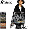 Poncho mens ladies scarf winter new native pattern poncho large muffler cold school commuter travel Street series outdoor system black beige 8 (yaight) affiliate 8