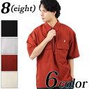 ハーフジップシャツ メンズ 半袖 シャツ【 送料無料 】全6色 新作 シャツKANGOL別注 カンゴール ハーフジップ シャツ …