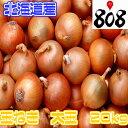 【あす楽】【送料無料】【北海道産】大玉玉ねぎ L〜2Lサイズ 約20kg(北海道沖縄別途送料加算)玉ネギ/たまねぎ/タマ…