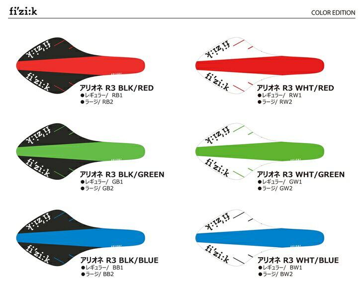 Fizik ARIONE R3 kium color edition (フィジーク アリオネ キウムレール カラーエディション) レギュラー 2018