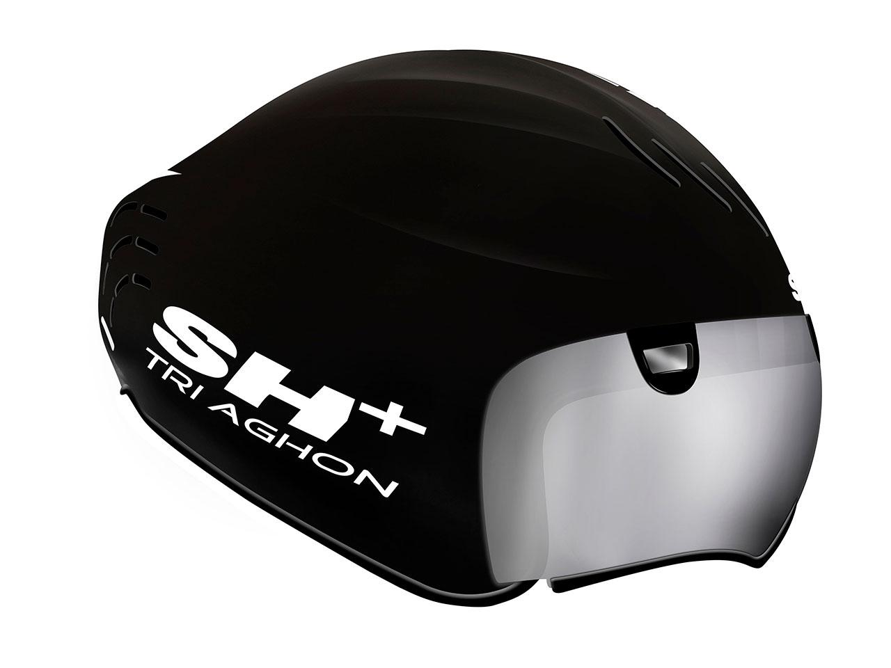 SH+ TRIAGHON (エスエイチプラス トライアゴン) ヘルメット 2018