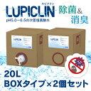1〜5日以内発送 割引 【大容量 20Lボックスタイプ 2個セット】 ウイルス対策 次亜塩素酸水 LUPICLIN ルピクリン (旧:L…