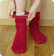 【冷えとり靴下4足セット】正活絹初心者セット(M)シルク100%綿100%5本指ソックス841日本製【あす楽】