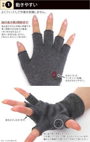 841ハンドウォーマースマホ手袋[I:9/40]
