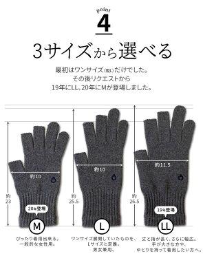 ハンドウォーマー《3フィンガー》スマホ手袋綿日本製指なし室内手袋軍手レディースメンズ防寒841【あす楽】[I:9/40]
