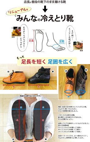 【20枚用】841の冷えとり靴(ベルクロ)冷え取り【あす楽】
