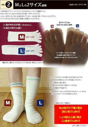【冷え取り靴下6足セット】ゴムなしおやすみ重ね履きセット(奈良県広陵町)あったかシルクウール841【あす楽】