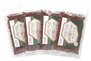 カネニ花田商店 おひさま干し納豆 国産大豆 アミノ酸無添加 100g×4個パック(計400g)
