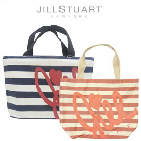 【DM便送料無料】ジルスチュアート ボーダートートバッグ SサイズJILL STUART NEW YORK Bag ロゴエコバッグ トートバッグ