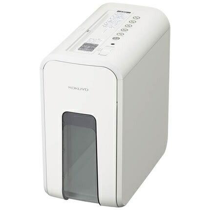 デスクサイドシュレッダー RELISH(リリッシュ) スノーホワイト(白)コクヨ 10-KPS-X80W送料無料 安心 安全 静音 A4 家庭向け インテリア ギフト お祝い