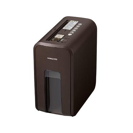 デスクサイドシュレッダー RELISH(リリッシュ) ビターブラウン(茶)コクヨ 10-KPS-X80S送料無料 安心 安全 静音 A4 家庭向け インテリア ギフト お祝い