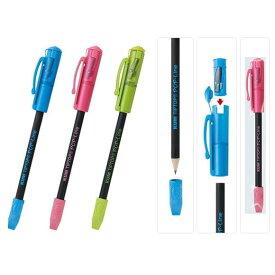 KUM/クム Tip Top Pop 削り器鉛筆付き[全3色]  レイメイ藤井 24-KM108*【ネコポス可】