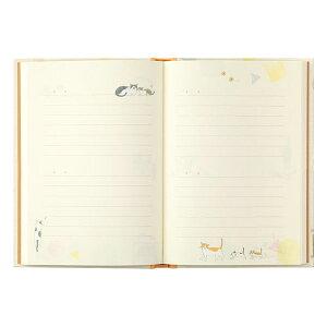 1年日記[日付表示なし/フリータイプ]ネコ柄デザインフィルミドリ12878【2冊までネコポス可】日記1年フルカラー猫ねこ