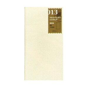 【ネコポス便対応可能商品】トラベラーズノート TRAVELER'S note book リフィル 軽量紙 28-14287 デザインフィル/ミドリ