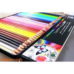 大人の塗り絵(コロリアージュ)向き!繊細な色彩表現可能色鉛筆36色セット三菱鉛筆K88836C