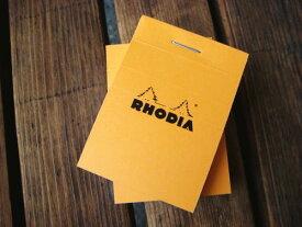 ■数量限定■RHODIA《ロディア》 ブロックメモ No.10 オレンジ クオバディス ロディア 1117-CF10200 【ネコポス可】