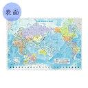 カラー下敷 世界地図 [A4]東京カートグラフィック 1754-PSWM【ネコポス可】
